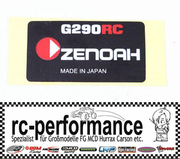 Zenoah g290 Sticker für Seilzugstarter Pullstarter g260 g230 g270 Aufkleber