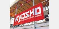 Kyosho Rennbanner 1800x600mm Flagge Banner Rennstrecke...
