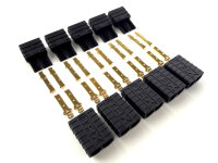 MULTIPLEX  5 Paar TRAXXAS TRX Steckverbinder Stecker...