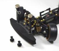 Aluminium Magnet Karosseriehalter schwarz Karohalter 4...