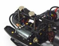 Aluminium Magnet Karosseriehalterung  Set v/h schwarz...