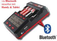 Hitec Multicharger X4 AA/AAA Advance 114126 Mignon 12v...