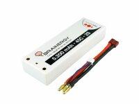 2S Lipo Akku 5200 mAH 45C Hardcase 4mm T-Plug Deans 801000