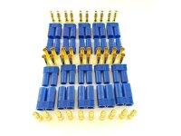 20 Stk. EC5  Stecker + Buchse Set (10 Paar) AMASS...