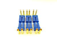 6Stk. EC5  Stecker + Buchse Set (3 Paar) AMASS...