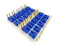 20 Stk. EC2  Stecker + Buchse Set (10 Paar) AMASS...