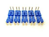 10Stk. EC2  Stecker + Buchse Set (5 Paar) AMASS...