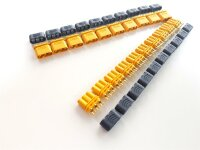 AMASS MR30  Goldkontakt Set Stecker + Buchse 10 Paar 20...